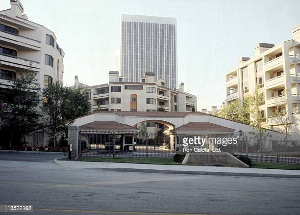 Marla Maples' condominium during Marla Maples' Condominium April 11 1990 at Park Place Condominiums in Century City California United States