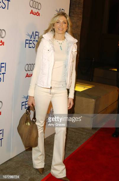 Marla Maples during AFI Fest 2005 Centerpiece Gala Presentation of The Three Burials of Melquiades Estrada Red Carpet at Egyptian Theatre in...
