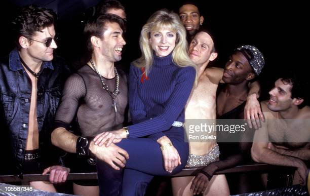 Marla Maples during Broadway Bares II October 27 1992 at The City New York City in New York City New York United States