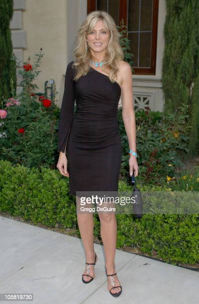 Marla Maples during Chrysalis's 5th Annual Butterfly Ball Arrivals at Italian villa of Carla and Fred Sands in Bel Air California United States