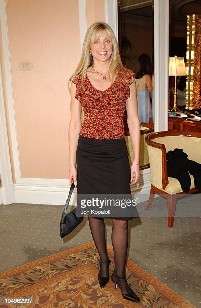 Marla Maples during Lupus LA InStyle Magazine Present The Old Bags Lupus Luncheon at The Beverly Hills Hotel in Beverly Hills California United States