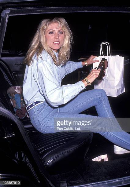 Marla Maples during Marla Maples Sighting - September 23, 1991 at Broadway in New York City, New York, United States.