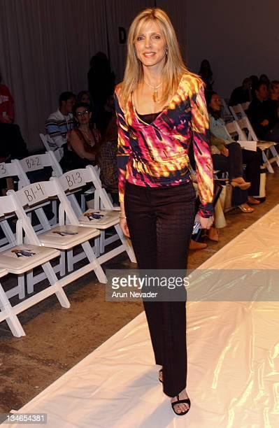 Marla Maples during MercedesBenz Fall 2005 LA Fashion Week at Smashbox Studios Iron Front Row and Backstage at Smashbox Studios in Culver City...
