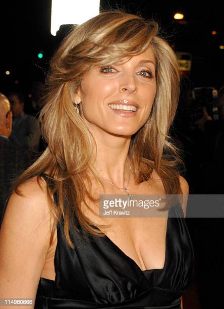 Marla Maples during Music and Lyrics Los Angeles Premiere Red Carpet at Grauman's Chinese Theater in Hollywood California United States