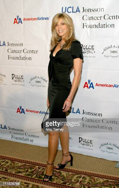 Marla Maples during UCLA's Jonsson Cancer Center Foundation Presents A Taste of Napa at Regent Beverly Wilshire in Los Angeles California United...