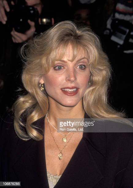 Marla Maples during Unveiling of Marla Maples' New Clothing Line Maternity Moods December 14 1993 at Macy's Herald Square in New York City New York...