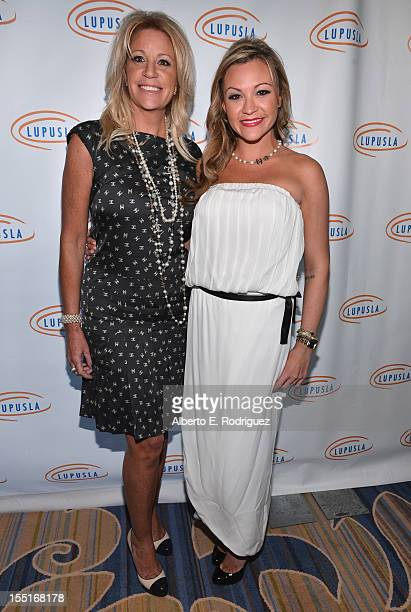 Marla Paxson and Nicole Paxson arrive to the Lupus LA 10th Anniversary Hollywood Bag Ladies Luncheon at Regent Beverly Wilshire Hotel on November 1...