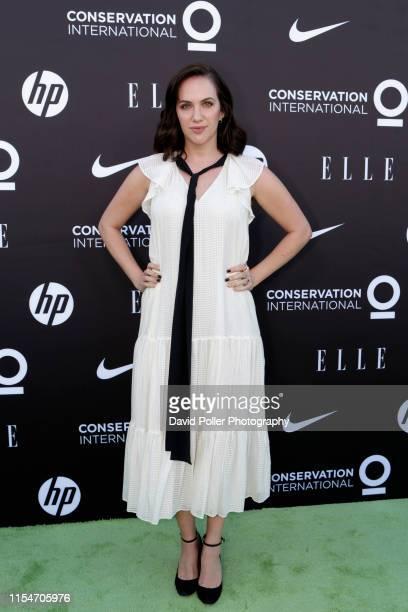 Marla Sokoloff attends the Conservation International ELLE Los Angeles Gala at Milk Studios on June 08 2019 in Hollywood California