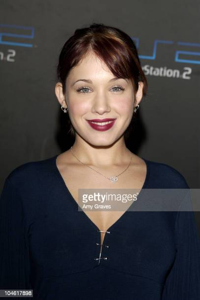 Marla Sokoloff during PlayStation2 and Guy Oseary Host Online Gaming Tournament for Charity at Private Residence in Beverly Hills California United...