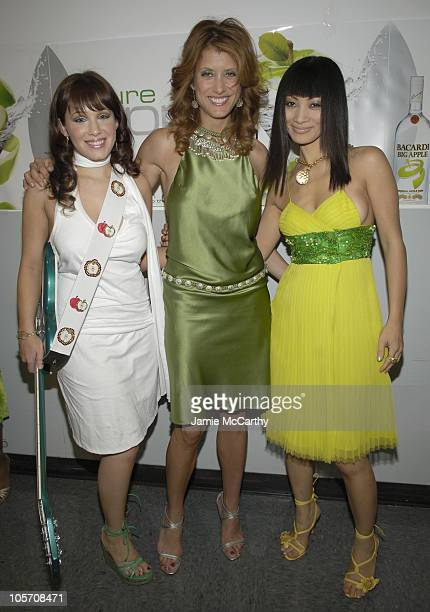 Marla Sokoloff, Kate Walsh and Bai Ling during Bacardi Big Apple Goes High Style at Time Warner Center in New York City, New York, United States.