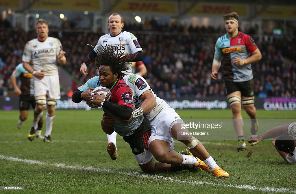 Harlequins v Cardiff Blues - European Rugby Challenge Cup : News Photo
