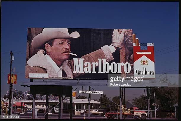 Marlboro Cigarettes Billboard