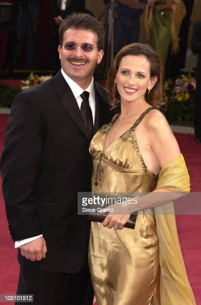 Marlee Matlin and huband Kevin Grandalski during The 75th Annual Academy Awards Arrivals at The Kodak Theater in Hollywood California United States