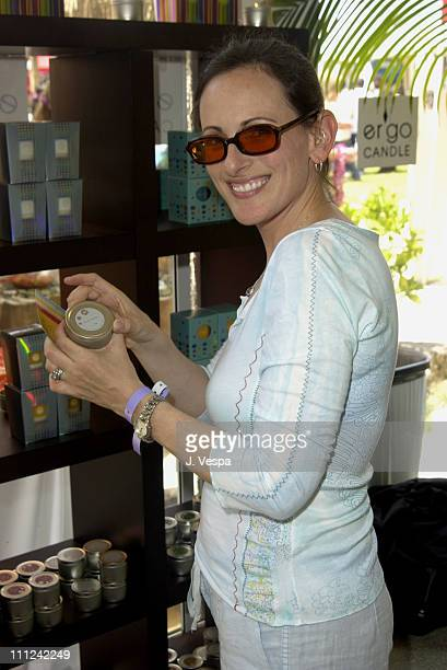 Marlee Matlin at Ergo Candles during Cabana PreMTV Movie Awards Beauty Buffet Day One at Private Residence in Hollywood California United States