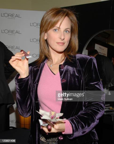 Marlee Matlin at L'Oreal Paris during HBO Luxury Lounge Day One at Peninsula Hotel in Beverly Hills California United States
