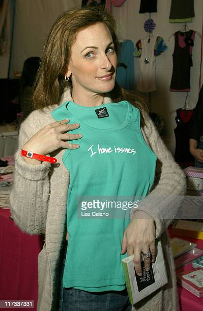 Marlee Matlin at Mary Phillips Design during Silver Spoon PreGolden Globe Hollywood Buffet Day 1 at Private Residence in Los Angeles California...