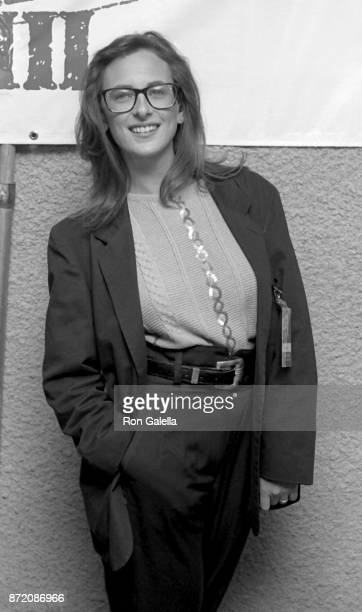 Marlee Matlin attends Comic Relief III on March 18 1989 at the Universal Ampitheater in Universal City California
