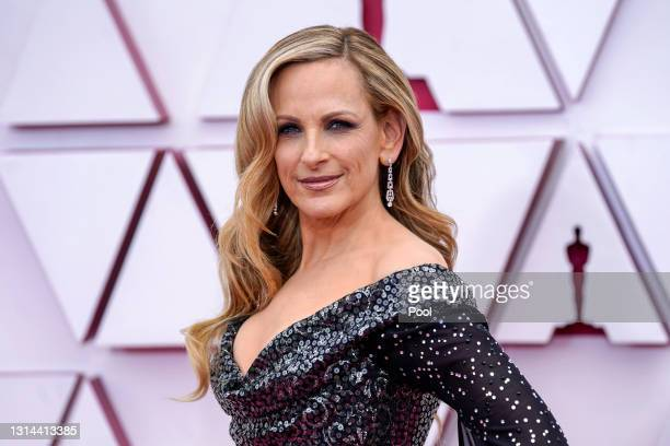 Marlee Matlin attends the 93rd Annual Academy Awards at Union Station on April 25, 2021 in Los Angeles, California.
