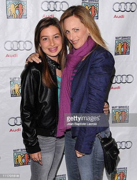Marlee Matlin attends the Best Buddies International's 'Bowling For Buddies' Benefit presented by Audi at Lucky Strikes on February 21 2010 in...