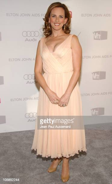 Marlee Matlin during 15th Annual Elton John AIDS Foundation Oscar Party Arrivals at Pacific Design Center in West Hollywood California United States
