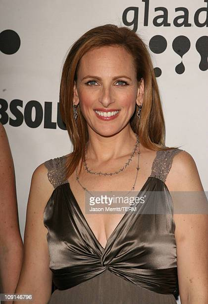 Marlee Matlin during 18th Annual GLAAD Media Awards Arrivals at Kodak Theatre in Hollywood California United States