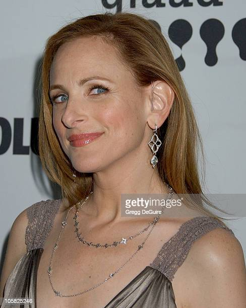 Marlee Matlin during 18th Annual GLAAD Media Awards Los Angeles Arrivals at Kodak Theatre in Hollywood California United States