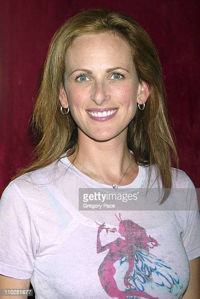 Marlee Matlin during Bad News Bears New York City Premiere Inside Arrivals at Ziegfeld Theater in New York City New York United States