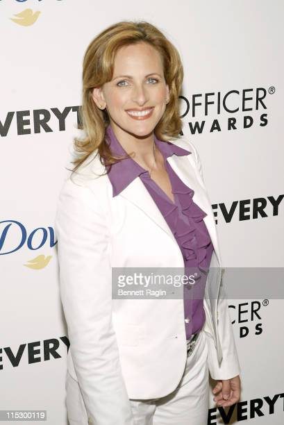 Marlee Matlin during Felicity Huffman and Marlee Matlin Honored at the 2nd Annual AOLcom Chief Eeverything Officer Awards Arrivals at Gotham Hall in...