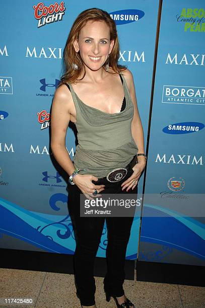 Marlee Matlin during Hotel De Maxim Party for Super Bowl XLI Arrivals at Sagamore Hotel in Miami Beach Florida United States
