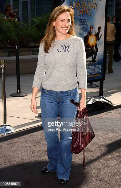 Marlee Matlin during Lemony Snicket's A Series of Unfortunate Events Los Angeles Premiere Arrivals at Cinerama Dome in Hollywood California United...