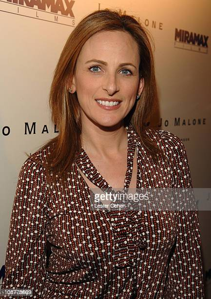 Marlee Matlin during Miramax Films and British Fragrance House Jo Malone Join to Celebrate 2007 OscarNominated Films The Queen and Venus at Sunset...