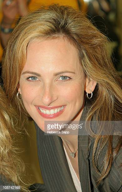 Marlee Matlin during Mission Hospital's Spirit of Giving at Irvine Spectrum Center in Irvine California United States