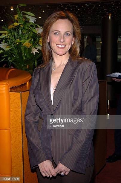 Marlee Matlin during MS Noordam Maiden Voyage Ceremony at Pier 90 in New York City New York United States