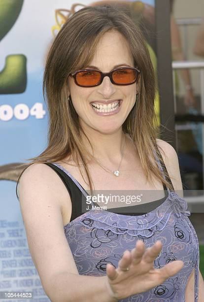 Marlee Matlin during Shrek 2 Los Angeles Premiere Arrivals at Mann Village in Westwood California United States