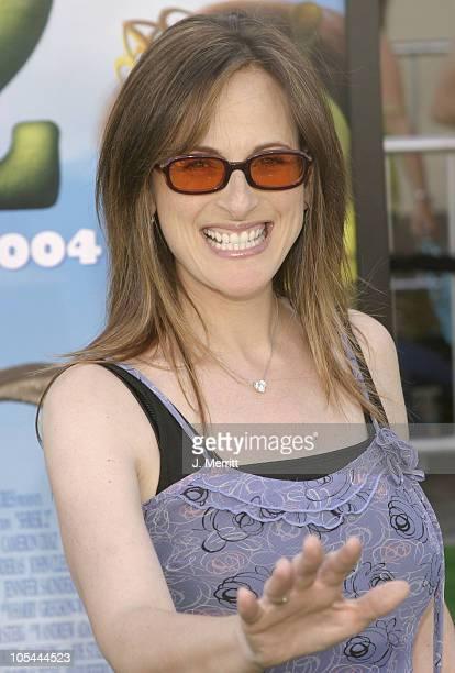 Marlee Matlin during 'Shrek 2' Los Angeles Premiere Arrivals at Mann Village in Westwood California United States