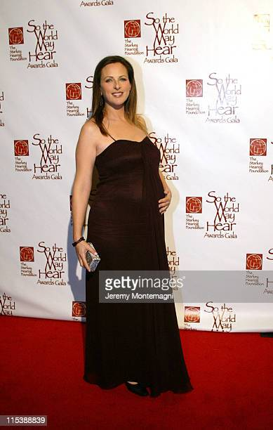 Marlee Matlin during So The World May Hear 2003 Awards Gala at Century Plaza Hotel in Century City California United States