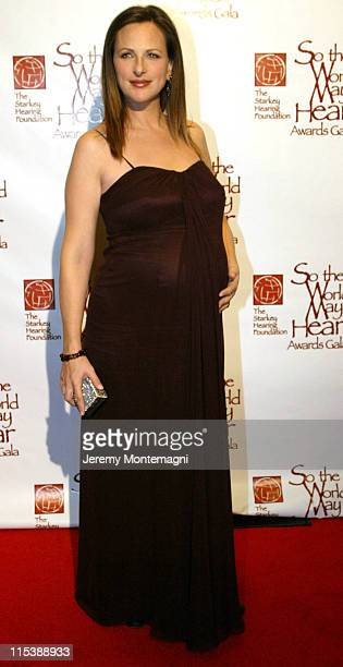 Marlee Matlin during So The World May Hear 2003 Awards Gala at Century Plaza Hotel in Century City, California, United States.