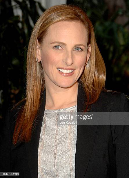 Marlee Matlin during The 4th Annual Triumph For Teens Awards Gala Arrivals at Four Seasons Hotel in Beverly Hills California United States