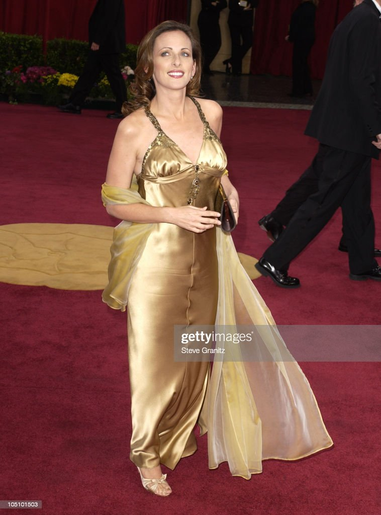 Marlee Matlin during The 75th Annual Academy Awards - Arrivals at The Kodak Theater in Hollywood, California, United States.