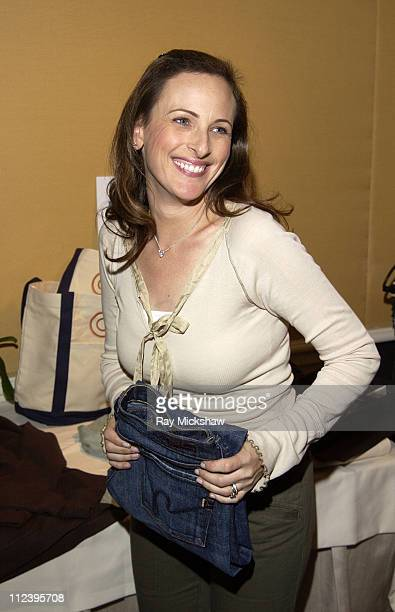 Marlee Matlin during The HBO Luxury Lounge at the 56 Annual Emmy Awards at The Peninsula Hotel in Beverly Hills California United States