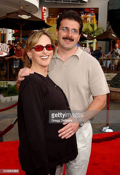 Marlee Matlin husband Kevin during The Bourne Identity Premiere at Loews Cineplex Universal Studios Cinema in Universal City California United States