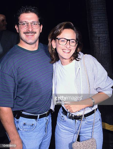Marlee Matlin husband Kevin Grandalski during The Mask Los Angeles Premiere at Academy of Motion Picture Theater in Beverly Hills California United...