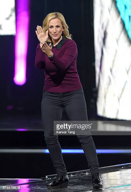 Marlee Matlin on stage during WE Day at SSE Arena on March 9 2016 in London England WE Day is a celebration of youth making a difference in their...