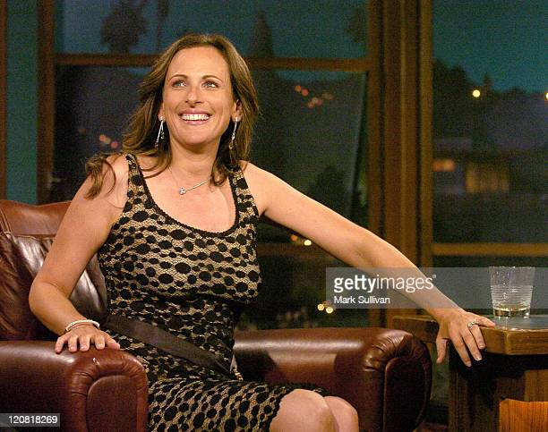 Marlee Matlin on the final broadcast of The Late Late Show