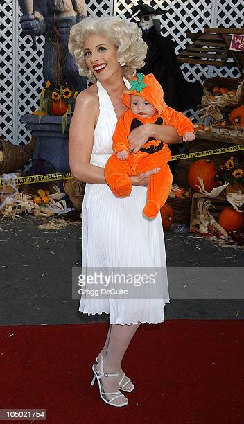 Marlee Matlin son Tyler during The 9th Annual Dream Halloween Los Angeles Benefits The Children Affected By AIDS Foundation at Barker Hanger in Santa...