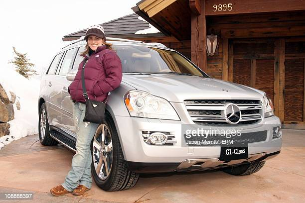Marlee Matlin with North Face and MercedesBenz GL class at The North Face House *Exclusive Coverage*
