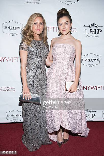 """Marlee Roberts and Karlee Roberts attend the screening of """"Little Miss Perfect"""" at TCL Chinese Theatre on May 26, 2016 in Hollywood, California."""