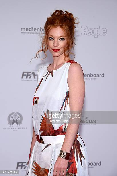 Marleen Lohse arrives for the German Film Award 2015 Lola at Messe Berlin on June 19, 2015 in Berlin, Germany.