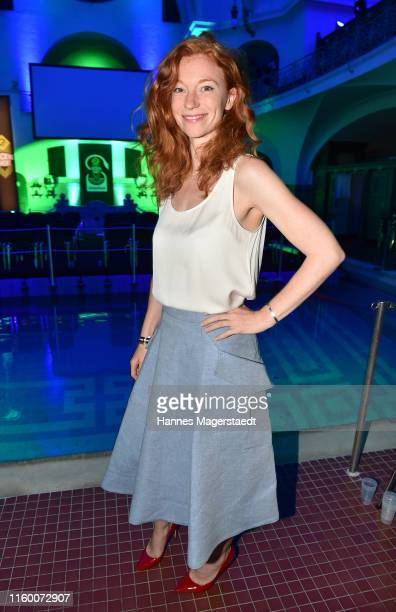 Marleen Lohse attends the 20 years anniversary of the 13th Street Shocking Short 2019 event at Muellersches Volksbad on July 02 2019 in Munich Germany