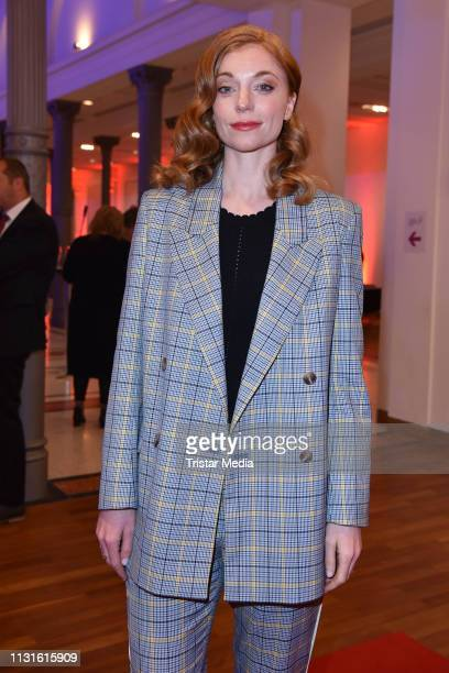 Marleen Lohse attends the Deutscher Hoerfilmpreis on March 19, 2019 in Berlin, Germany.